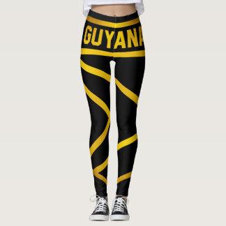 Guyana Emblem Leggings