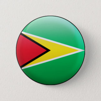 Guyana Flag 6 Cm Round Badge