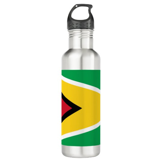 Guyana Flag 710 Ml Water Bottle