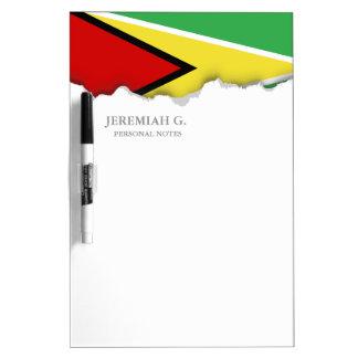 Guyana Flag Dry Erase Whiteboard