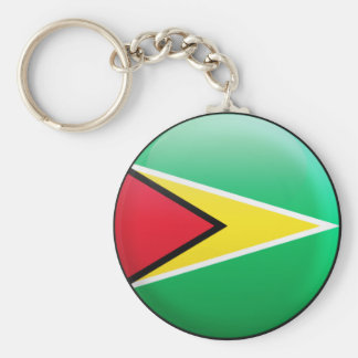Guyana Flag Key Ring