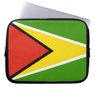 Guyana flag laptop sleeve