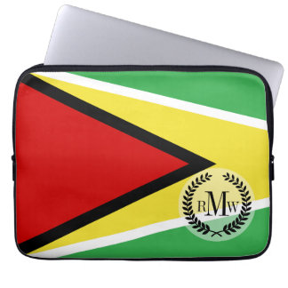 Guyana Flag Laptop Sleeves