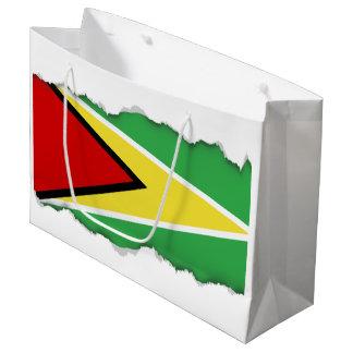 Guyana Flag Large Gift Bag
