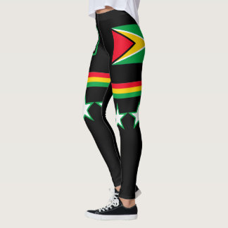 Guyana Flag Leggings