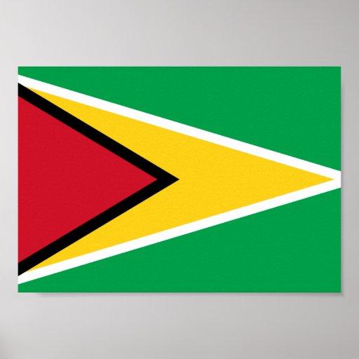 Guyana Flag Poster