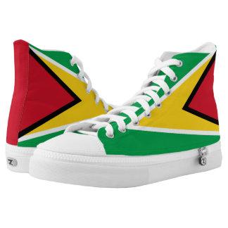 Guyana Flag Printed Shoes