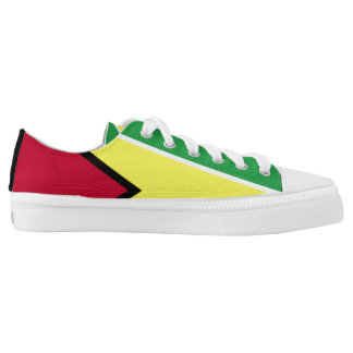 Guyana Flag Shoes Printed Shoes