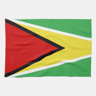 Guyana Flag Tea Towel