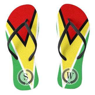 Guyana Flag Thongs