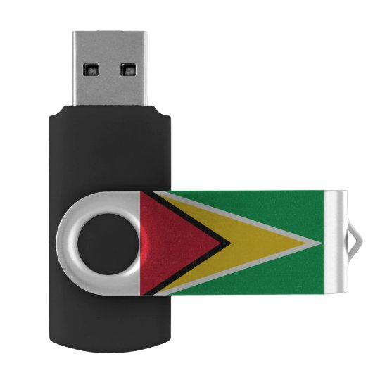Guyana Flag USB Flash Drive