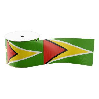 Guyana Grosgrain Ribbon