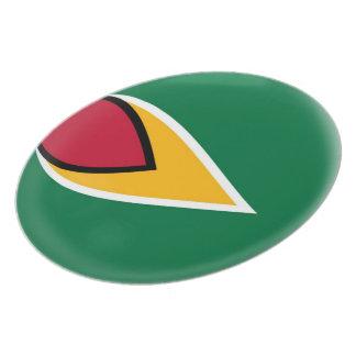 Guyana Guyanan Flag Plate
