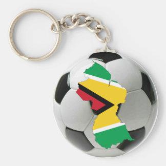 Guyana national team basic round button key ring