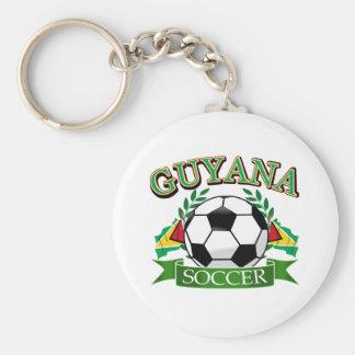 Guyana soccer ball designs keychain