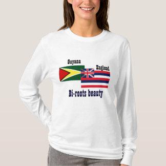 guyanese-british t-shirts-bi-roots beauty T-Shirt