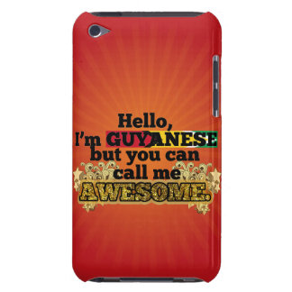 Guyanese, but call me Awesome iPod Touch Cover