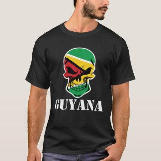 Guyanese Flag Skull Guyana T-Shirt