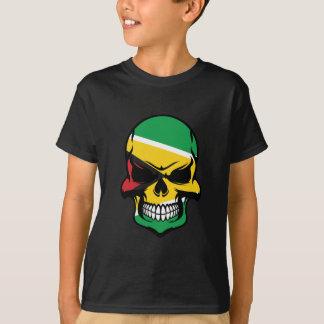 Guyanese Flag Skull T-Shirt