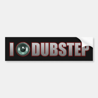 guys girls DUBSTEP Bumper Sticker