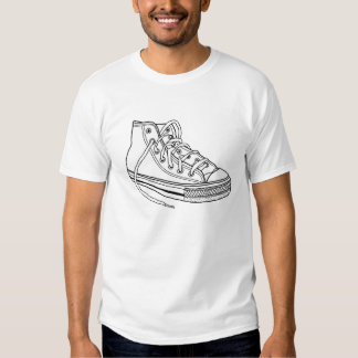 Guys Sneaker Design T-shirt