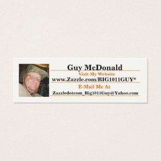 Guy's - Zazzle.com/Big1011Guy* Business Card