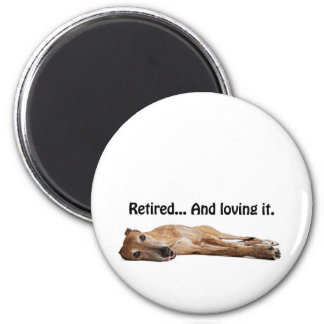 GVV Greyhound Retired and Loving It Magnet