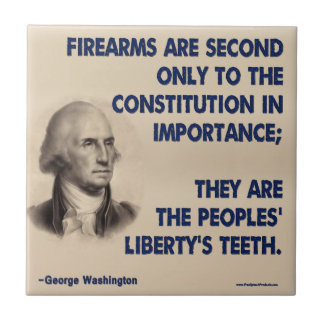 GW - Firearms Second only to the Constitution Tile