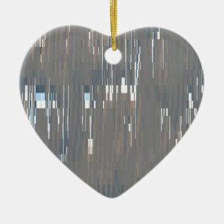 GW Lines Ceramic Heart Decoration