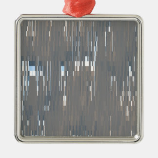 GW Lines Silver-Colored Square Decoration