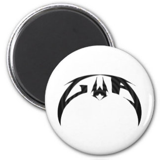 GWA Alpha Logo 6 Cm Round Magnet