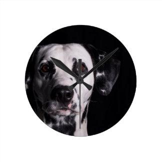 GWDC Dalmatian Photo Contest Round Clock