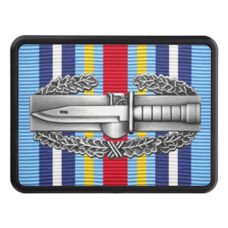 GWOT Ribbon Combat Action Badge Hitch Cover