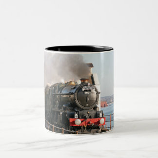 GWR King Edward 1 Steam Engine Two-Tone Coffee Mug