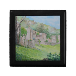 Gwrych Castle Small Square Gift Box