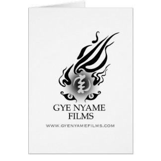 Gye Nyame Films Card