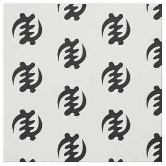 Gye Nyame | God is Supreme Adinkra Symbol Fabric