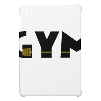 Gym and fitness iPad mini cover