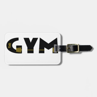 Gym and fitness luggage tag