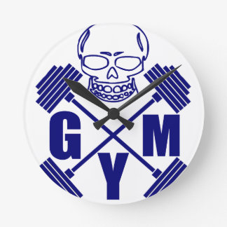 Gym and lifting round clock