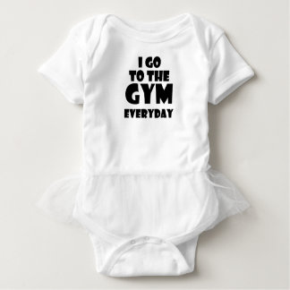gym baby bodysuit