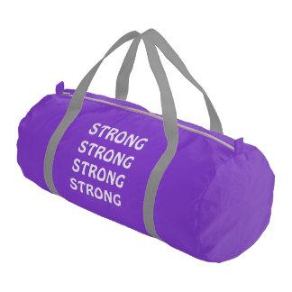 Gym Bag Purple Gym Duffel Bag