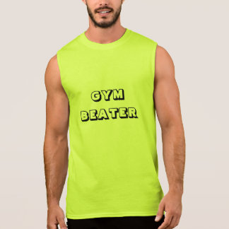 """""""GYM BEATER"""" Ultra Cotton Sleeveless T-Shirt"""