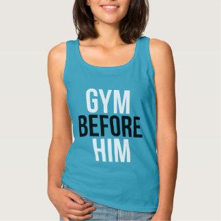 Gym Before Him Singlet