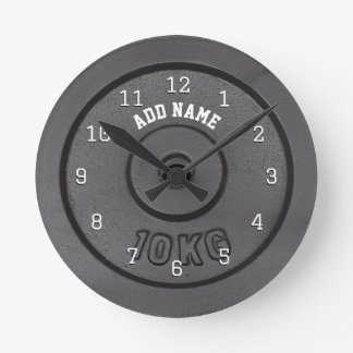 Gym Bodybuilder Wall Clock
