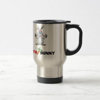 gym bunny 2 travel mug