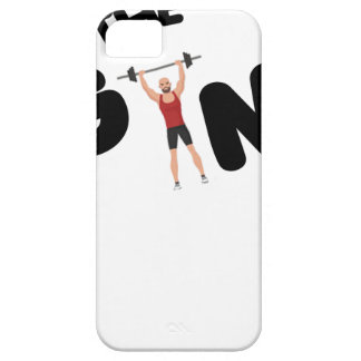 Gym funny texts case for the iPhone 5