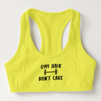 Gym Hair Don't Care Sports Bra