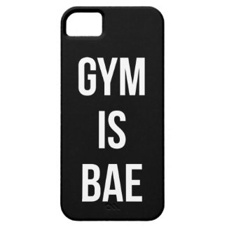 Gym Is Bae - Funny Workout Inspirational Case For The iPhone 5
