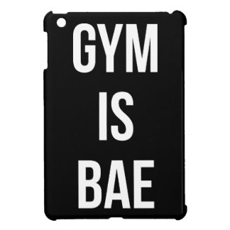 Gym Is Bae - Funny Workout Inspirational iPad Mini Cover